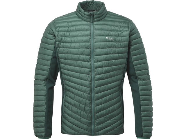 Rab Cirrus Flex Jacket Herren bright arctic/pine